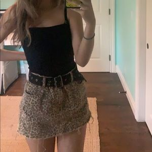 Pacsun Mini Denim skirt